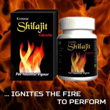 Shilajit 30 Capsule Kashmir Herbal Remedies