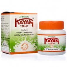 Kayam 30 Tablets Sheth Bros