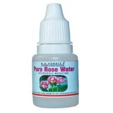 Pure Rose Water 10ml B V Pundits