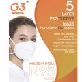 N95 Certified Mask G3 - Pack of 5