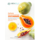 Papaya Fairness Facial Mask (Dry, Damaged and Dull Skin) - Mirabelle Pack Of 5
