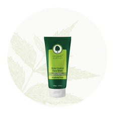 Acne Control Face Wash with Neem & Tea Tree 100 gm Organic Harvest