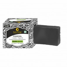 Charcoal Soap  (Pack of 3) Passion