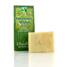 Pure Sesame Oil Soap 100 gm Shudhvi Naturals
