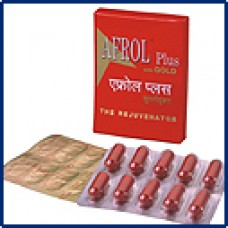 Afrol Plus with Gold Capsules 10c Solumiks Herbaceuticals