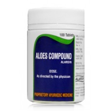 Aloes Compound 100 Tablets Alarsin