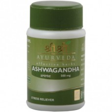 Ashwagandha 60 Tablets Sri Sri Ayurveda