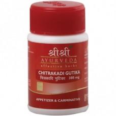 Chitrakadi Gutika 60 Tablets Sri Sri Ayurveda